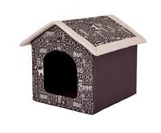 Hobbydog R5 BUDNAP7 Budnap7 R5 - Cuccia per Cani e Gatti, S-XXXL (R5 (70 x 60 cm), XL, Marrone, 2 kg