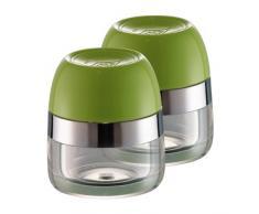 Wesco 322 776-20 - Portaspezie, 2 pz., colore: Verde lime