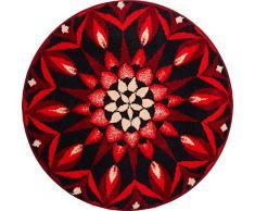 Grund COGNITION Tappeto per Il Bagno, Poliacrilico Supersoft, Rosso, 60 cm