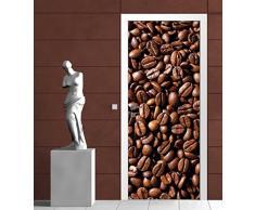 Scarica Disegno Chicchi di caffè 182-veterinario Porta Decorazione 211 x 91 cm