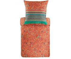 Biancheria da letto Bassetti, Cotone cotone., Colore: arancione., 135x200 cm