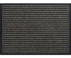 ID Opaco 9015010 Gramat Tappeto Zerbino in Fibra, PVC e Polipropilene, Colore: Marrone, 150 x 90 x 0,8 cm