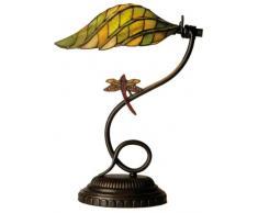 la Casa di Tiffany 5Ll-5507 Lampada da Tavolo, Verde