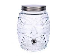 Quid Hábitat Dispenser per bevande con rubinetto, diversi colori e misure 5L Metallo