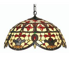 Oaks Lighting Jessamine - Lampada stile Tiffany