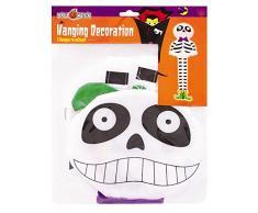 ASAB Halloween Personaggio Spaventoso Spaventoso Mostro penzolante da soffitto, Decorazione per Feste in casa