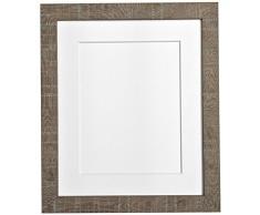 PER POSTA CORNICI 45 x 30 cm di profondità e le istruzioni per la foto vena telaio di supporto 14 x 20,32 centimetri per le foto, marrone
