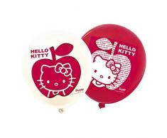 Hello Kitty 6 kty057 Apple palloncini rosso 30 cm – set di 12