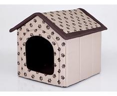 Hobbydog R2 BUDBEZ13 Cuccia per Cani, Misura 2, 44 x 38 cm, in Codura, Resistente ai Graffi, Prodotto Europeo, S, Beige, 700 g