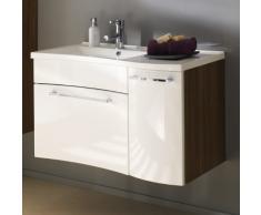 Posseik 5671 91 - Vanity, Armadietto da bagno, colore: Bianco
