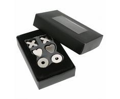 Deknudt Frames S67FD2 0 x 0 lavagna magnetica grigio argento metallo