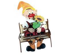 Petra S News Set per a zwh4815gb bricolage fai da, di peluche nano con per panca da giardino, legno