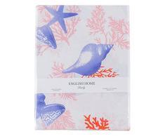 English Home 10015983002Â Coral Reef biancheria da letto, Cotone,, 220Â x 200Â cm