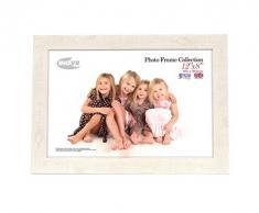 Tradizionali foto e cornici britannici Inov8 PFES-DWWH-DA1, doppia visiera 2 x 10 x 15 cm, legni bianco 20 x 30 cm