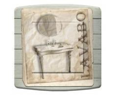 DKO interrupteur Interruttore Va e vieni doppio decorato: lavabo