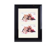 Inov 8 PFE BKGL-DA1 tradizionali foto e cornici britannici, 20 x 30 cm, doppia visiera 2x 10 x 15 cm, confezione da 4, nero lucido