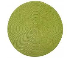 Saleen tovaglietta rotonda, 40Â cm, verde erba/