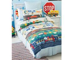 Hiccups e di biancheria da letto per bambini, 140 x 200 cm, in cotone