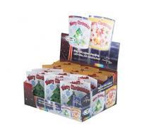 Christmas Gift 53250 illuminazione natale della con LED cambia colore 6,5 x 14,5 x 15 cm