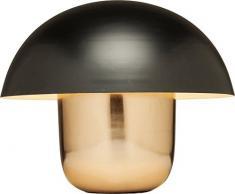 Kare 60199, tavolo Mushrooms, colore nero, in rame, lampada moderna da comodino a forma di fungo, 44 x 50 x 50 cm, Grande