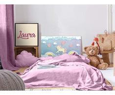 Oedim - Testiera per Letto in PVC, per Bambini, Motivo: Unicorno, 100 x 60 cm, Disponibile in Diverse Misure