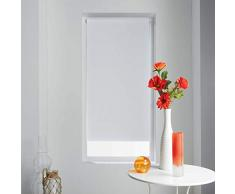 store dintérieur Tenda avvolgibile Oscurante in Poliestere Occult Bianco, Bianco, 60 x 90 cm