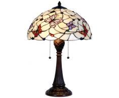 la Casa di Tiffany 5ll-5365 Lampada da Tavolo, Marrone