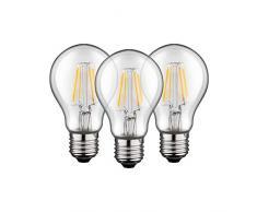 Goobay 56656 3x Filamento Lampade a LED, 4 W, Confezioni da 3