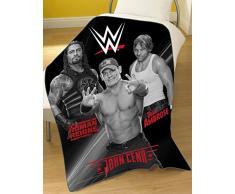 WWE Stars Coperta in Pile, Grigio