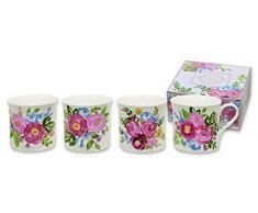 Heath Mccabe Princess Kathy da giardino (4 pz, in confezione regalo), multicolore, set di 4