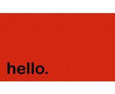 Pusher PUS7 Hello Zerbino, Fibra di Cocco, 75x45x2 cm, Colori assortiti