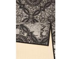 Zala Living Design - Tappeto da cucina Holiday, 67 x 180 cm, colore: Grigio antracite