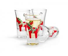 Sagaform Dala Cavallo Bicchieri da Liquore, Vetro, Trasparente, 4,5 CL,
