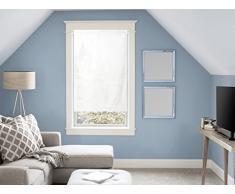 Tendina a vetro in cotone 45x90 cm PANAMA Bianco