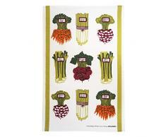 Almedahls verdure estive strofinaccio, misto cotone, verde, 25 x 20 x 0.5 cm