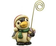THUN - Segnaposto Pinguino con Dolce - Segna Posto da Tavola Natalizio - Ceramica - Natale