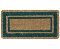 Floormad Cocco Zerbino, Fibra/Vinile, Verde, 50x100