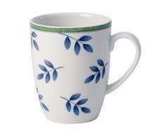 Villeroy & Boch Switch 3 Tazza da Caffè, 280 ml, Altezza: 10.5 cm, Porcellana, Bianco/Blu/Verde