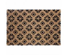 Déco Tapis Graphic Home Zerbino Rettangolare 40x 60cm Cocco Imprime Graphic Home, Materiale Sintetico, Multicolore, 60x 40cm