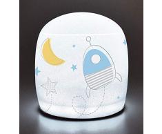 Fun House 713193 - Lampada gonfiabile per bambini, colore: Blu