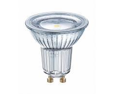Osram 815605 Lampadina LED GU10, 6.9 W, 10 unità , a riflettore, vetro