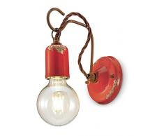 Lampade da parete color rosso da acquistare online su livingo
