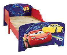 FUN HOUSE 712761 - Letto per bambini, motivo: Cars, in MDF, 140 x 70 x 59 cm