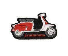 Lambretta LADM01 Zerbino, PVC, Rosso, 80x40x2 cm