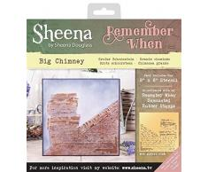 Sheena Douglass Remember When-Stencil Big Camino, Trasparente