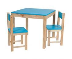 Creaciones meng – Kit Set Tavolo, 2 Sedie per Bambini ref-13387