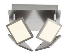 Brilliant g33835/13 a +, lampade da parete, metallo, 5 W, Ferro, 30 x 30 x 15 cm
