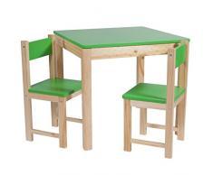 Creaciones meng – Kit Set Tavolo, 2 Sedie per Bambini ref-13389