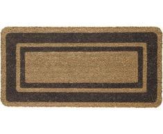 Floormad Cocco Zerbino, Fibra/Vinile, Marrone, 50x100
