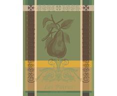 Garnier-Thiebaut strofinaccio, cotone, Verde, 56Â x 77Â cm